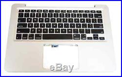 Top Case Keyboard Assembly for MacBook Pro 13 Unibody 661-6075, 661-5871
