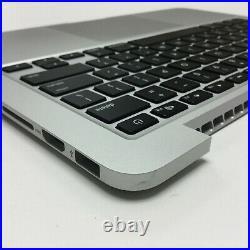 Top Case/Keyboard/Battery Grade A Early 2015 A1502 13 MacBook Pro 7654-04