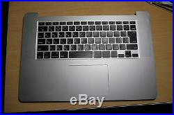 Top Case with Japanese Keyboard for Retina i7 MacBook Pro 15 A1398 Japan Keys