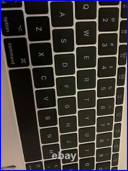 Top case Keyboard Palmrest Silver MacBook Pro 13 A1708 2016 2017 USA