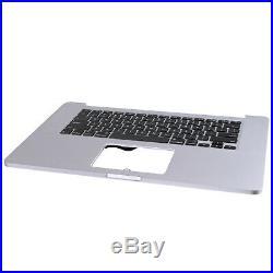 US New For Macbook Pro Retina 15 A1398 2013 Backlit Top Case Palmrest Keyboard
