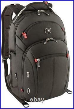 Wenger Swiss Gear Gigabyte 15 Macbook Pro Backpack With Ipad Pocket Black