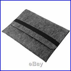 Wool Felt Sleeve Case For Apple Mac Air MacBook Pro 11/12/13/15 Laptop Cover Bag
