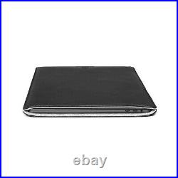 Woolnut Leather Sleeve Cover Case for MacBook Pro 12 inch Black MacBook 12
